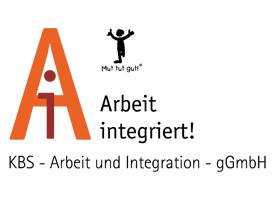 Logo des Inklusionsunternehmens KBS-AI gGmbH