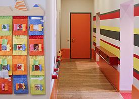 Innenansicht der Einrichtung Kinderkrippe Zauberland in Karlsruhe