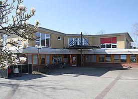 Außenansicht des Gebäudes der Kindertagesstätte Mullewapp in Rastatt
