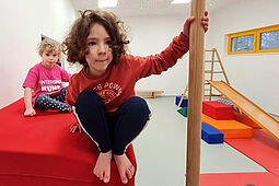 Innenansicht des Schulkindergartens Offenburg.