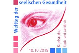 Logo des Welttages der seelischen Gesundheit Karlsruhe