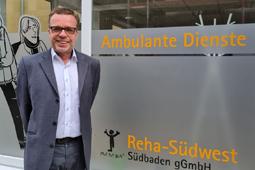Michael Schreiner, neuer Geschäftsführer der Reha-Südwest Südbaden gGmbH.
