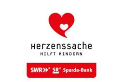 """Logo der Spendenaktion """"Herzenssache hilft Kindern"""""""